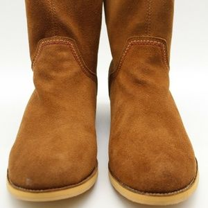 Reef Brown Suede Ankle Booties Size 6.5